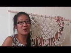 getlinkyoutube.com-Macrame curtain | Testing Pinterest DIY Pins!
