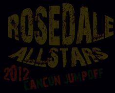Rosedale All Stars 2012 Cancun Jumpoff Custom Light Up Shirt