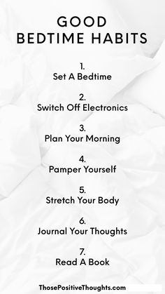 Life changing bedtime rituals for a better night's sleep and a better day! how to get a better night's sleep - sleep help - healthy living - bedtime h. , Good Bedtime Habits for Healthy Living Healthy Living Tips, Healthy Habits, Healthy Routines, Living A Healthy Lifestyle, Healthy Living Quotes, Healthy Lifestyle Motivation, Exercise Motivation, Health Benefits, Health Tips