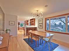 Your guide to modern homes in Portland Oregon. Featuring mid century modern, contemporary modern homes and condos for sale in Portland. Homes In Portland Oregon, Portland House, Modern Homes For Sale, Dining Room, Dining Table, Condos For Sale, Modern Contemporary, Mid Century, Furniture