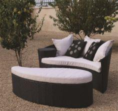 Oceans Rattan Furniture - Fiji Rattan Outdoor Garden Daybed