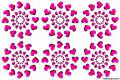 ИСЦЕЛЯЮЩИЕ КАРТИНКИ - мистика или реальность?! Проверьте!: znay_vce — ЖЖ Stone Heart, Blue Wallpapers, Picture Cards, Mandala Art, Optical Illusions, Health Tips, Stones, Mandalas, Deceit
