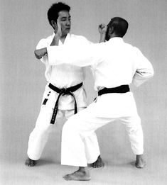 Double-hand block, backfist strike Martial Arts, White Jeans, Hands, Fashion, Moda, Fashion Styles, Combat Sport, Fashion Illustrations, Martial Art