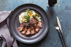 Bavette Steak Au Poivre on Munchery