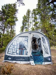 Walker Tent For Tab Teardrop Trailers With Images Tent Camper Windows Teardrop Trailer