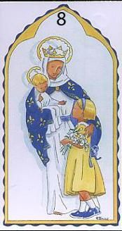 NOTRE DAME ... IMAGES PIEUSES MADAME KERVIZIC Santa Maria, Blessed Virgin Mary, Our Lady, Communion, Tween, Notre Dame, Illustrations, Religion, Baby Boy