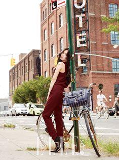 4Minute Hyun Ah - Elle Magazine November Issue '14