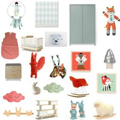 Kidstore Little You Step 1 : le projet, planche d'inspiration !
