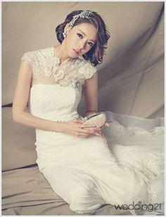lee da hee in style | Korea Actress Lee Da hee Wedding Dress | all about WEDDING…