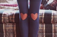 Knee heart patches