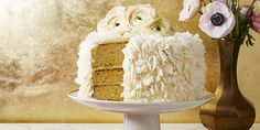 Coconut Layer Cake With Cream Cheese Frostinggoodhousemag