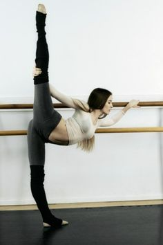 I just had a freestanding ballet barre installed and will be using it to gain strength and flexibility!