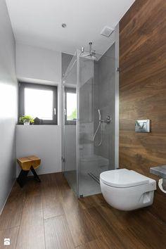 Современный интерьер и дизайн ванной комнаты с душевой кабиной на фото. Ванна с маленькой душевой кабиной из плитки. Варианты отделки санузла в доме.