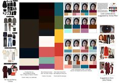 Studies to Create a Color Strategy for her Capsule Wardrobe