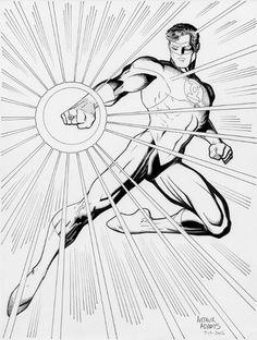 Green Lantern By Arthur Adams