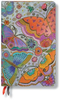 18-Month Maxi Dayplanners by Paperblanks: 2012 Flutterbyes