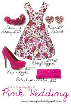 Fearless Brides Fashion Blogger Challenge: Spring-inspired bridesmaid outfit by Messy Carla
