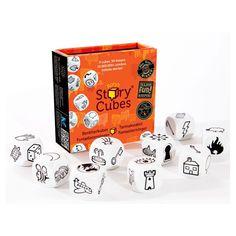 Rory's Story Cubes er et spill for en eller fler som lett kan tas med i lommen. Spillet vekker fantasien til deltakere i alle aldre. Slå terningene, studer de ni bildene som vender opp og la deg inspirere til å lage en spennende fortelling. Rory's Story Cubes er et fenomen som har tatt verden med storm. De ni terningene har til sammen 54 bilder. Det kan bli uendelig mange historier. Passer for både voksne og barn. Størrelse: 7,5 x 8 x 2,3 cm. Fra 6 år.