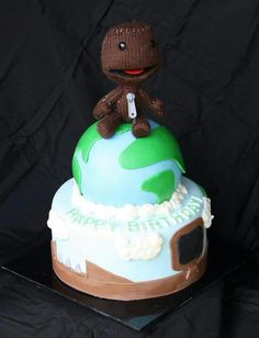 Please vote for this cake add pretty toxiccakes ,like Teresa rubios Little big planet entry this would make this little boys birthday that much more special :)) <3