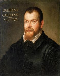 Galileo Galilei - an Italian physicist, mathematician, astronomer, and philosopher who played a major role in the Scientific Revolution (1564 - 1642).