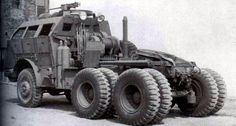 Tractors 385128205618989926 - The Tractor was a component of the Tank Transporter (nicknamed Dragon Wagon), a US Army WWII tractor-trailer combination used for transporting and recovering tanks. US Army photo Source by labigne Old Ford Trucks, Lifted Chevy Trucks, Big Trucks, Semi Trucks, Pickup Trucks, Military Gear, Military Weapons, Military Equipment, Army Vehicles