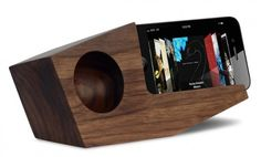 Koostik: A Zero-energy Wood Speaker To Amp Up Your Iphone