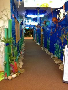 Underwater ocean hallway | bulletin