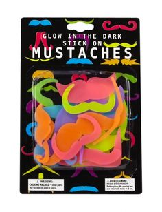 Glow In The Dark Mustaches | Girls Toys & Games Toys & Crafts | Shop Justice