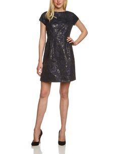 ESPRIT Collection Damen A-Linie Kleid im Regular Fit: Amazon.de: Bekleidung