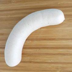 First created in Munich, weisswurst is a pork sausage that is lightly spiced with onion, ginger, salt and pepper.