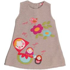 I like this design.  Maybe as an applique for the little girls?