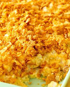 The Easiest Pepperoni Rolls Recipe - All Things Mamma Cheesy Potato Casserole, Potatoe Casserole Recipes, Cheesy Potatoes, Potato Recipes, Party Potatoes, Corn Casserole, Baked Potatoes, Breakfast Casserole, No Bake Oreo Dessert