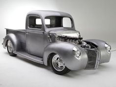 This 1941 Ford Pickup, built by Hot Rods & Hobbies owner Scott Bonowski, may be unfinished but still grabbed attention at the Grand National Roadster Show.