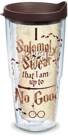 Harry Potter Marauder's Map Tumbler by Tervis #harrypotter #marauders #map #tumbler #affiliate
