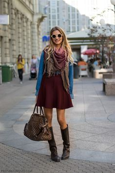 Beautiful Saturday, People And Street Style In Zagreb, images by PEOPLEANDSTYLES.COM