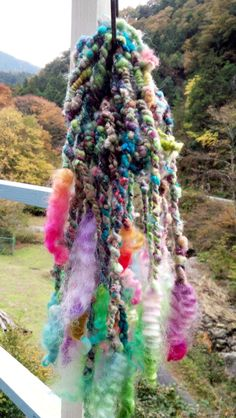 Art Yarn twists