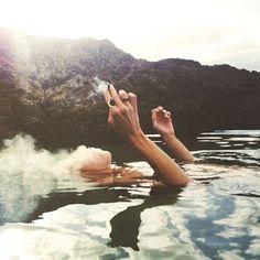 Smoking weed on cloud 9 - www.CannabisTutorials.com