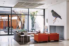 Casa para Invitados Rockefeller, Nueva York, NY - Philip Johnson - foto: Dean Kaufman