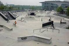 Image result for outdoor skatepark