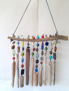 47 Beau carillon à vent perlé pour ajouter de l'éclat au jardin  #ajouter #carillon #eclat #jardin #perle