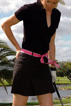Ladies Golf Fashion! Check out our Golftini Black Pleat Skort for $120.00