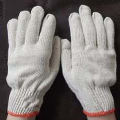 5PCS/LOT Safety cotton Work gloves workers hands protection health care gloves G0401