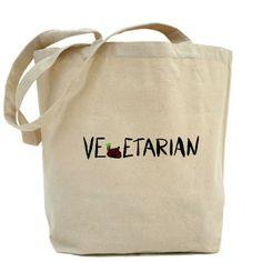 Vegetarian Poop Tote Bag