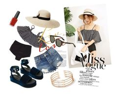 """""""Chambi trang den"""" by pio-lala on Polyvore featuring Lauren Ralph Lauren, Free People, Givenchy and Kester Black"""