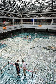 Beijing Planning Exhibition Hall AKA Urban Planning Museum (Nov - very cool scale model of Beijing City Buildings, Urban Planning, Beijing, Scale Models, Royalty Free Images, Louvre, Museum, Stock Photos, Travel