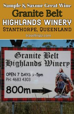 Enjoy a sample and savour visit to the Granite Belt Highlands Winery. Great wine and winning service. Take time out for a tipple at the wineries in Stanthorpe. Great Restaurants, Places Of Interest, Time Out, Wineries, Highlands, Travel Around, The Ordinary, Granite, Travel Destinations