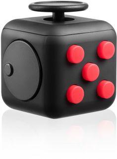 Fuj:tech Fidget Cube ‐stressinoppa, musta/punainen – Strategiapelit – Pelit ja oppiminen – Lelut – Verkkokauppa.com