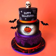 "Duff Goldman on Instagram: ""Can't believe it's October, but I always enjoy the array of Halloween cake orders we get. Nice job, @CharmCityCakes! #CakeoftheWeek"" Halloween Cakes, Happy Halloween, Charm City Cakes, Duff Goldman, Samhain, The Duff, Amazing Cakes, Perfume Bottles, Desserts"