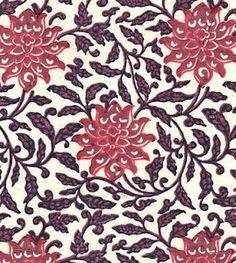 floral : Muriel Brandolini beige 4 fabric