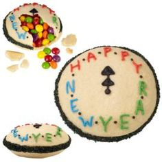 Time for a New Year Piñata Treats. New Year #cookies